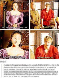Gwen and Arthur
