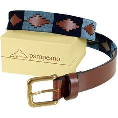 Pampeano Azules Polo Belt