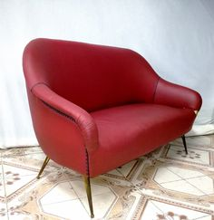 divano,sofa armchairs in sky Design Stile Di Gio Ponti anni 50 italiano