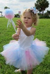 Cotton Candy Tutu Costume 3 pc Set **FREE SHIPPING**