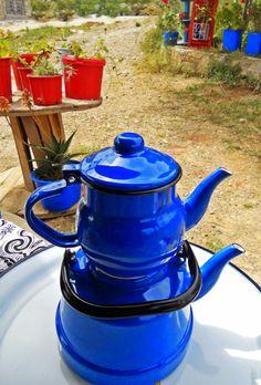 Cheerfulmoon: mavi çaydanlık...