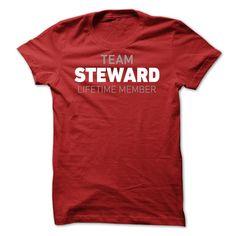 Team Steward Lifetime Member  T Shirt