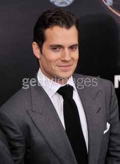 Actor Henry Cavill attends the...