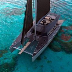Yacht Design, Catamaran Design, Sailing Catamaran, Yacht Boat, Boat Design, Sailing Ships, Sunreef Yachts, Bateau Yacht, Kombi Motorhome