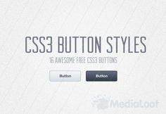 CSS3 Button Styles