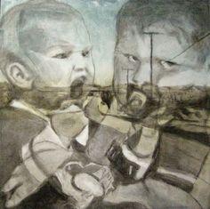 JOHANNA KALLiOiNEN  Charcoal, Ink and Oil
