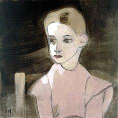 Helene Schjerfbeck (1862-1946) Margareta Vind 1934