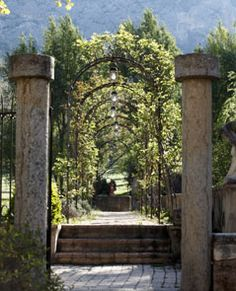 La Bastide De Moustiers - inn in Provence  France owned by chef Alain Ducasse - want to go there, and SOON