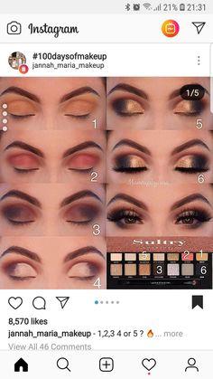 Ideas Eye Brown Tutorial Anastasia Hair Colors For 2019 Sultry Makeup, Smoky Eye Makeup, Eye Makeup Steps, Makeup Eye Looks, Eye Makeup Art, Skin Makeup, Eyeshadow Makeup, Makeup Goals, Makeup Inspo