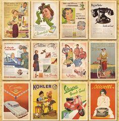 Tarjetas de Felicitación, regalo, postales, postcard, poster, navidad. Diseño clásico famoso de Posters estilo Vintage No. 4