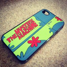mystery machine scooby doo iphone case