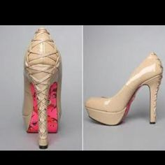 New Betsey Johnson shoes! Loving them!