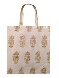 Tote Bag - Pineapple Palette Tote by VIDA VIDA 65X5mFpg2K