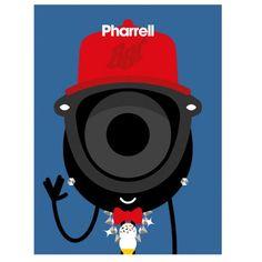 // Pharrel Williams by Darcel //