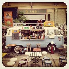 Food Inspiration  BBC Boracay says:The Mobil Street CafeThanks to VW #kombilove