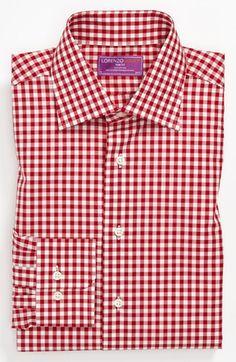Lorenzo Uomo Trim Fit Dress Shirt | Nordstrom