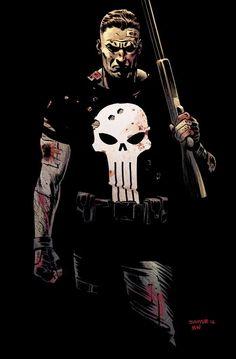 The Punisher by Chris Samnee *