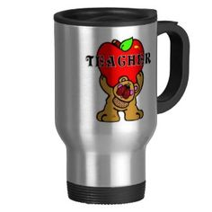 Teacher Apple Bear Coffee Mug