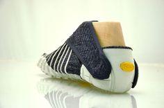 Furoshiki-inspired shoes that wrap around your feet