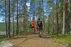 Short holiday in southern Finland: hiking in Repovesi National Park