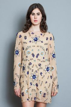 Hydrangea Dress - Sapphire - Young & Able