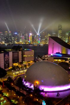 Symphony of Lights, Hong Kong - One of Hong Kong's best entertainment values, this free sound and light show happens nightly at 8:00pm across Victoria Harbor