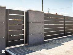 Nowoczesne Ogrodzenie Xcel Horizon Beton Architektoniczny Ogrodzenia - zdjęcie od XCEL Ogrodzenia