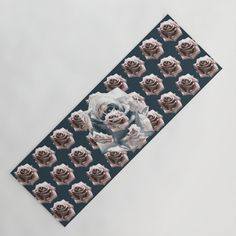 Illusion with rosy striped roses Yoga Mat by mokkihopero Floral Tie, Illusions, Roses, Stripes, Yoga, Lifestyle, Pink, Rose, Optical Illusions