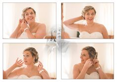 Ray Lockyer Yeovil Wedding Photographer - Our Bride completes her finishing touches
