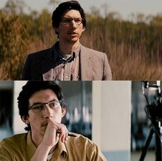 Adam Driver......with glasses :))))
