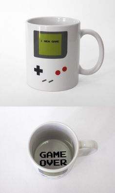 For the gamer: coffee mug.