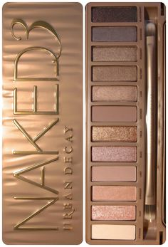 Naked 3 pallet. It's beautiful