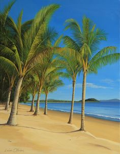 Galleries : Beaches and Surfers - Leisa O'Brien Artist
