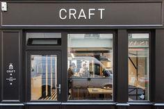 Café Craft ist ein weiterer hübscher Coffee Shop nahe dem Canal Saint Martin in Paris