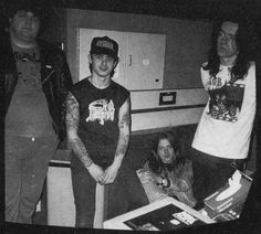 Bill Steer and Napalm Death