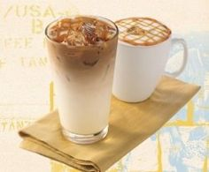 a number of recipes for Starbucks coffee, YES PLEASE!