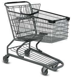 Carrinho de compras de supermercado - CRR Carrinhos e Rodízios