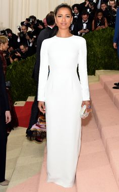 Gugu Mbatha-Raw from Met Gala 2016: Red Carpet Arrivals In Gabriela Hearst