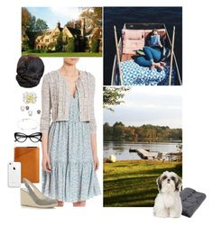 """""""Untitled #2078"""" by duchessq ❤ liked on Polyvore featuring Rebecca Taylor, Michael Kors, Mujjo and Sefte"""