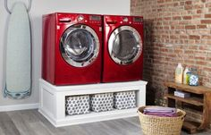 Build a Laundry-Machine Pedestal