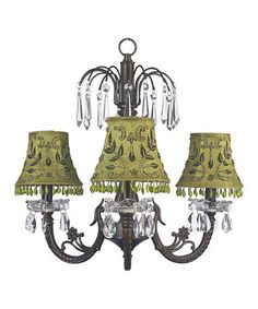 Hang this elegant chandelier in any room for a unique accent. The ornate details and classic design are sure to look great with any existing décor while brightening up the home.