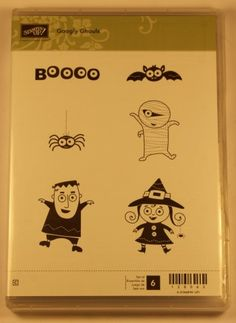 Stampin' Up! – Googly Ghouls Clear Mount Stamp Set
