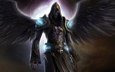 I call him '' The Dark Angel Ranger '' but you can call him whatever you want or whatever you want ps: not mine work and I don't know the artist