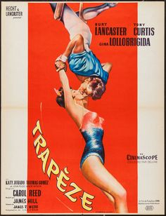 Trapeze (United Artists, 1956). French Poster