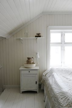 sweet attic rooms