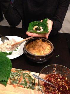 "Soybean purée casserole. Korean ""Bijee Jjigae"" 비지 찌개 #koreanfood"