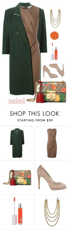 """""""Office"""" by patricia-dimmick on Polyvore featuring Claude Montana, Lanvin, Gucci, Karen Millen, Zelens, Illamasqua, bag, purse and Minime"""