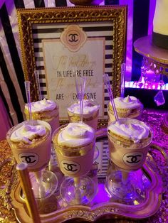 Quinceanera Party Planning – 5 Secrets For Having The Best Mexican Birthday Party 17th Birthday Party Ideas, Chanel Birthday Party, 14th Birthday Cakes, Birthday Sweets, Chanel Party, Sweet 15, Candy Bar Party, Decoration, Quinceanera Party