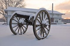 farm houses winter scenes | Winter Scenes at Fort Indiantown Gap | Flickr - Photo Sharing!
