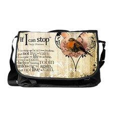 If I Can Stop ~ Poem Messenger Bag - vintage gift for wife from cafepress.com